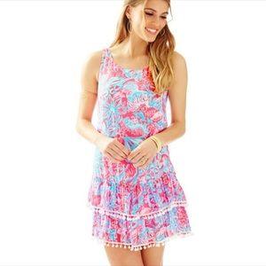 Lilly Pulitzer Natashia Dress in Summer Siren SZ S
